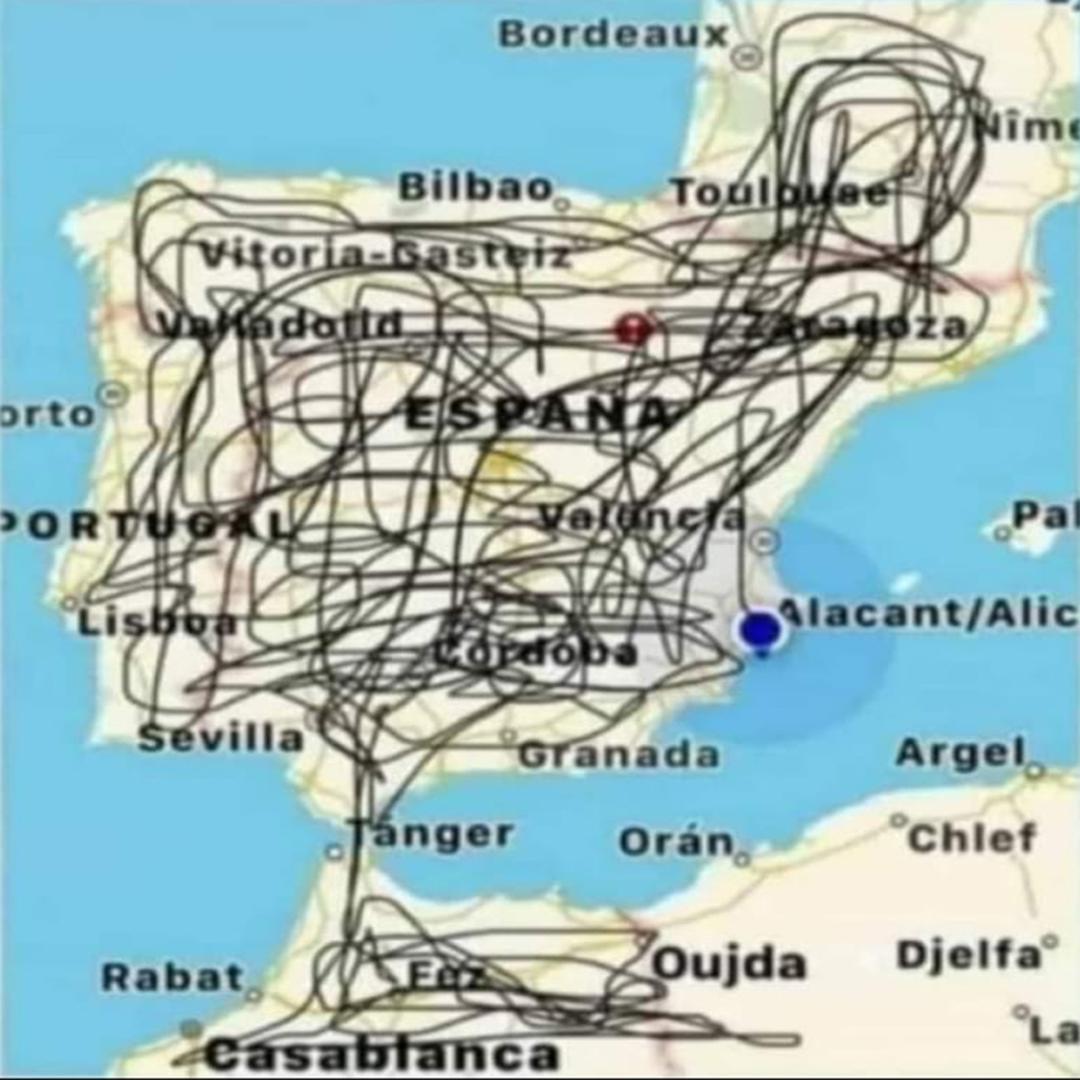 Mapa de Rutas próximas