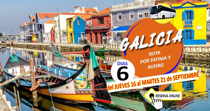 Circuito en Autocar a Galicia :: Ruta por Fátima y Aveiro :: 6 Dias