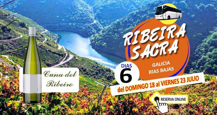 18-07-21 Circuito en Autocar a Galicia Rias Bajas :: Ruta de las Rias Bajas :: 6 Días