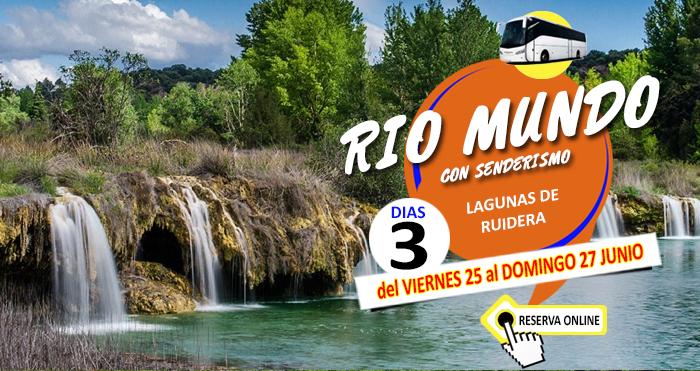25 Junio al 27 de Junio :: Circuito en Autobus :: Rio Mundo :: Lagunas de Ruidera