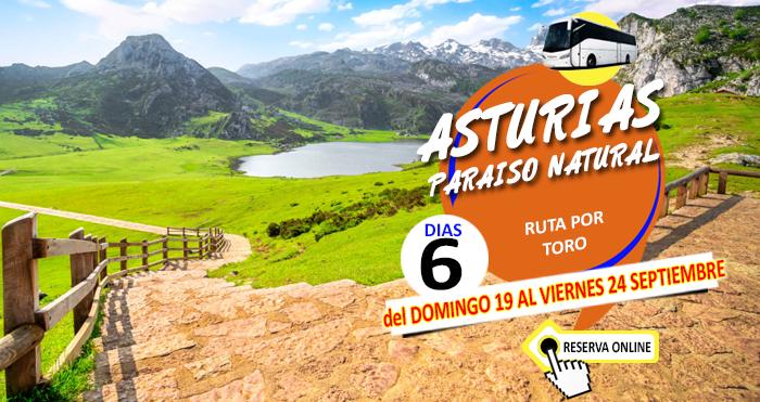 19-09-21 Circuito en Autobus a Asturias :: Paraiso Natural :: Ruta por Toro :: 6 Días