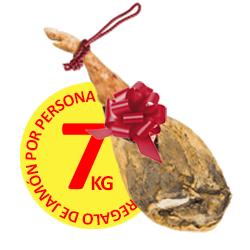 Regalo de Jamón por Persona :: 7kg. :: Denominación de Origen Las Alpujarras