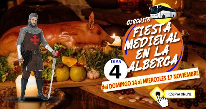 Circuito en Autobús :: Fiesta Medieval en la Alberca :: Salamanca :: Hotel Doña Teresa 4**** :: Con Acceso al SPA :: 4 Días