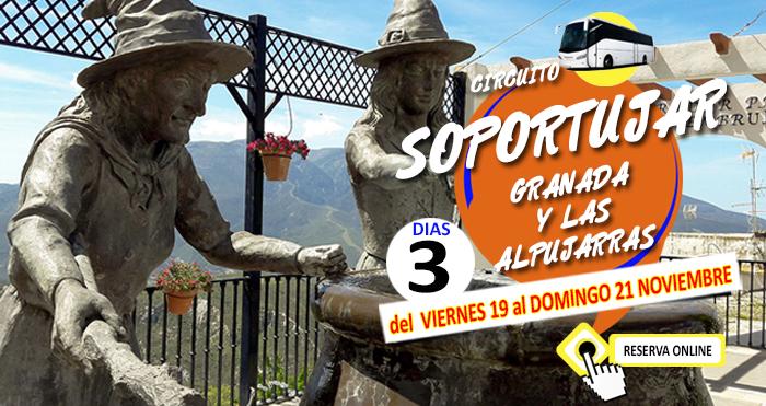 Circuito en Autobús :: Granada y las Alpujarras :: Con Visita a Soportujar :: Hotel Bs Principe Felipe 3*** :: 3 Dias