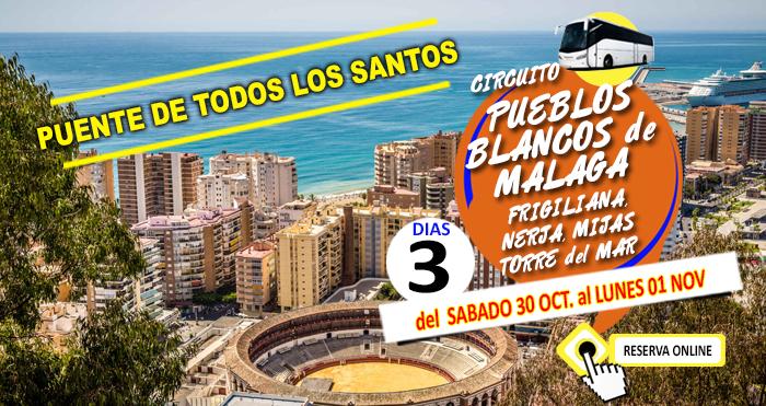 Circuito en Autocar :: Pueblos Blancos de Málaga :: Puente de todos los Santos :: Hotel Natali 3*** :: Torremolinos :: 3 Dias